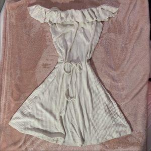 Reformation off shoulder dress
